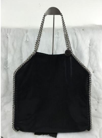 2016 stella falabella PVC 3 chains crossbody shoulder bag with logo classic luxury handbag<br><br>Aliexpress