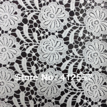On Sale! Crochet Lace Floral Embroidery Lace Fabric 120CM Wide For New Season