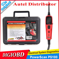 AUTEL Powerscan PS100 Electrical System Diagnostic Tool Power Scan Best Quality circuit Tester Featuring AVOmeter, test light