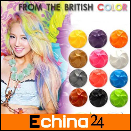 Nieuwe aankomst 2014 haarkleuring ballen niet- giftig tijdelijk haar mix kleur kleurstof pastel 1pc gratis verzending(China (Mainland))