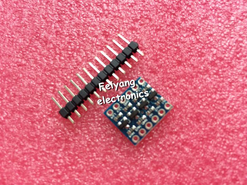5V-3V IIC UART SPI Four Channel Level Converter Module for Arduino via China Post(China (Mainland))