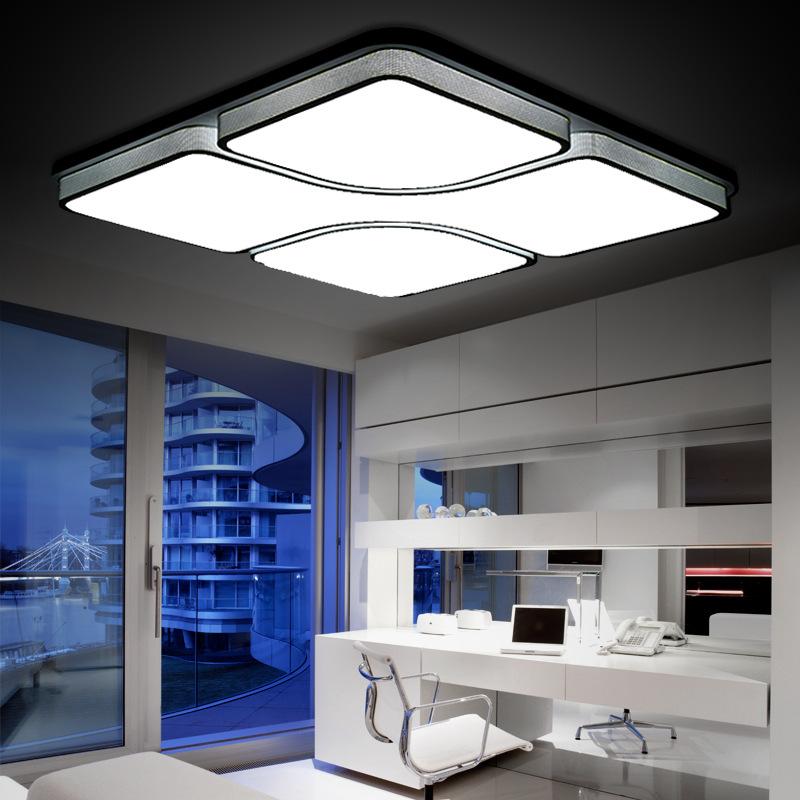 ... Moderne korte acryl plafondlamp led slaapkamer verlichting woonkamer