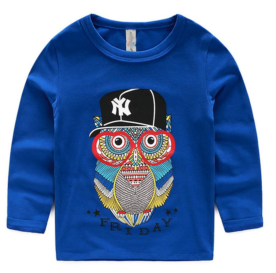 Aliexpress Buy Spring Autumn Owl Pattern Basic Boys