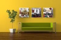 Canvas Print Canvas Painting Urban City View Home Decor Wall Art Picture Posters and Prints JHT-010