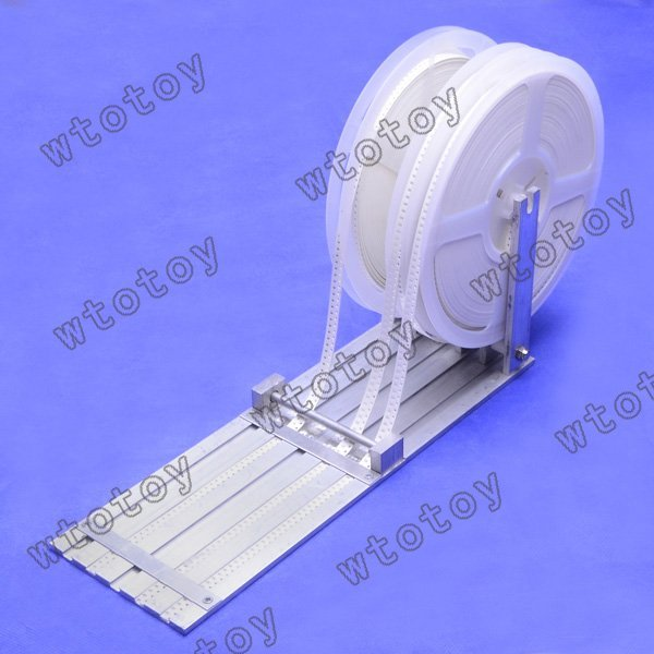 1 set 5 way SMT SMD Feeder for DIY Prototype Pick Place