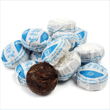 Different kinds flavors chinese yunnan puer tea in bag gift packing and best choices for losing
