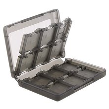 High quality 28 in 1 Game Card Case Holder Cartridge Storage Box for 3DS & 3DSLL/XL free shipping(China (Mainland))