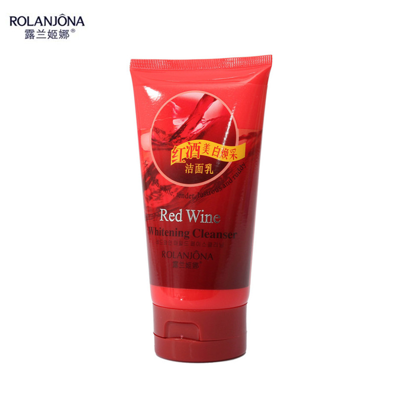 ROLANJONA 1Pcs Face Cleanser Whitening Oil Control Deep Cleaning Facial Skin Care Red W-ine Makeup Beauty Tools Hot Sale(China (Mainland))