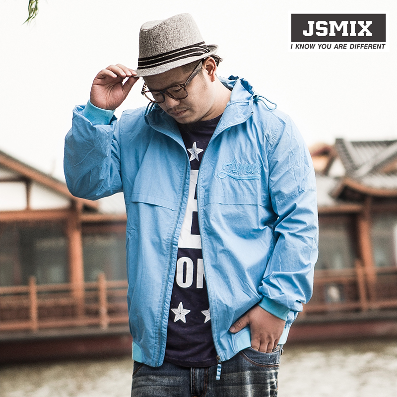 Fat planet j sm ix autumn plus size men's clothing trench jacket outerwear male - Boshi Electronic Technology Co., Ltd. store