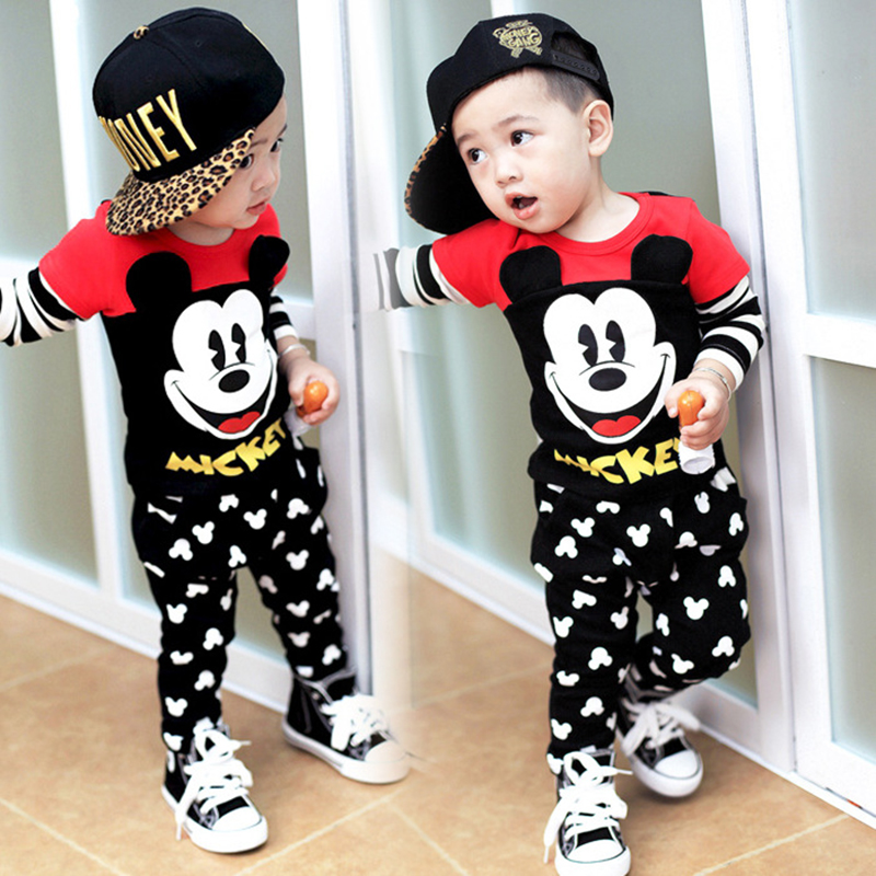 Mickey Mouse Clothes For Boys