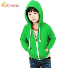 Boy children hoodies kids spring autumn outwear Children Casual hoddies boys jacket kids cardigan jacket 5 colors 2016 brand(China (Mainland))