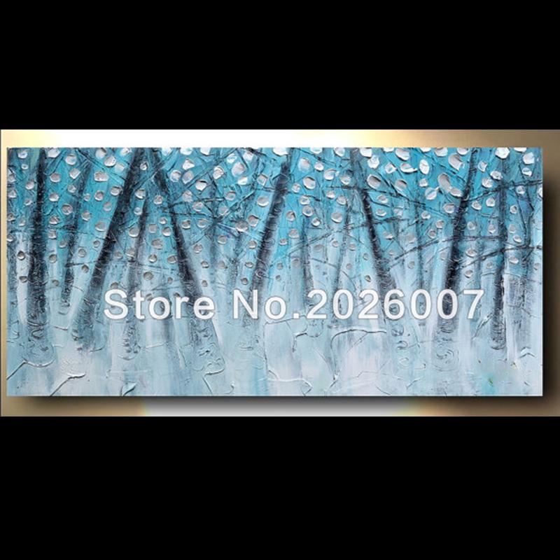 Online kopen Wholesale turquoise schilderijen uit China turquoise schilderijen Groothandel
