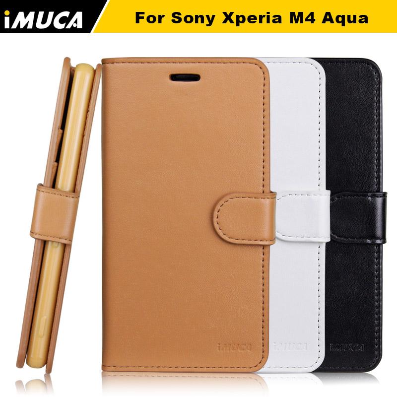 for Sony Xperia M4 Aqua Case Cover for sony xperia m4 aqua E2303 E2333 E2353 iMUCA brand phone cases funda capa retail package(China (Mainland))