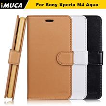 Buy Sony Xperia M4 Aqua Case Cover sony xperia m4 aqua E2303 E2333 E2353 iMUCA brand phone cases funda capa retail package for $6.08 in AliExpress store