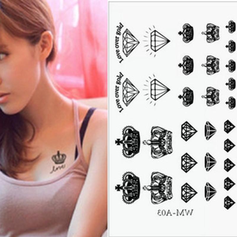 tatouage femme maquillage