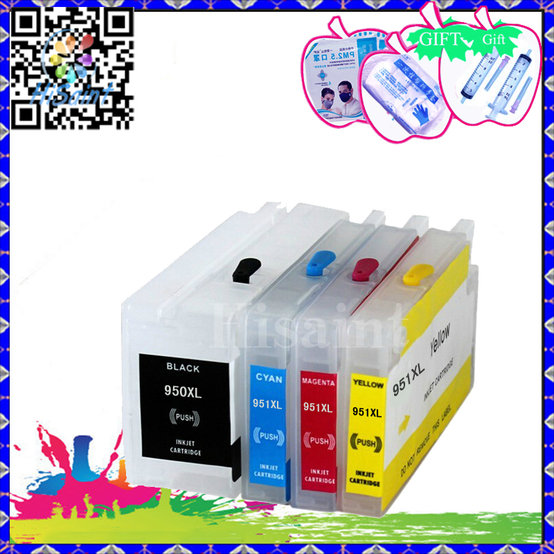 Wholesale for HP 950XL 951XL Compatible Ink Cartridge for HP 950 XL 951XL for printer officejet Pro 8100 ePrinter - N811a/N811d(China (Mainland))