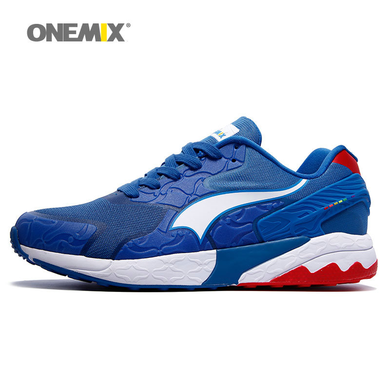 Onemix mens running shoes fashion Damping portable shoes for mens sneakers Breathable mesh sports shoes free shipping 1109<br><br>Aliexpress