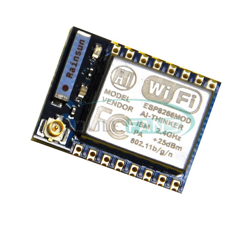 Электронные компоненты WIFI ESP8266 STA AP + esp/07 1pcs esp8266 serial esp 02 wifi wireless transceiver module send receive ap sta