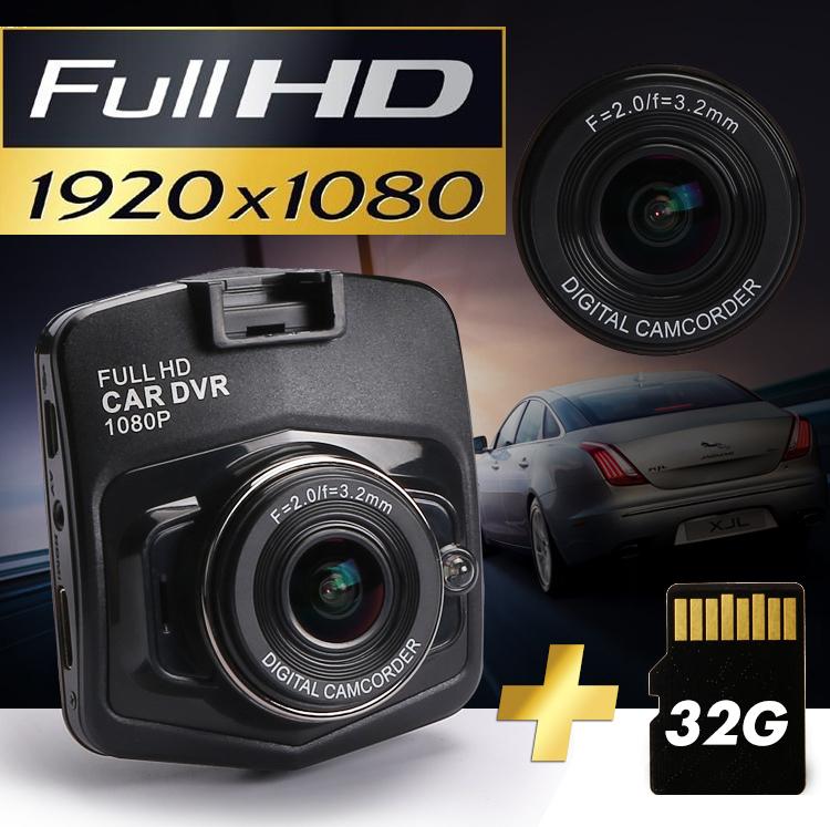 "Hot sale HD 1080P Video Registrator Recorder G-sensor Night Vision 2.4"" HD LCD Car DVR Car Camera Video Recorder free shipping(China (Mainland))"