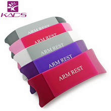 2016 KADS Comfortable Plastic & Silicone Nail art Cushion Pillow Salon Hand Holder Nail Arm Rest Manicure Accessories Tool(China (Mainland))