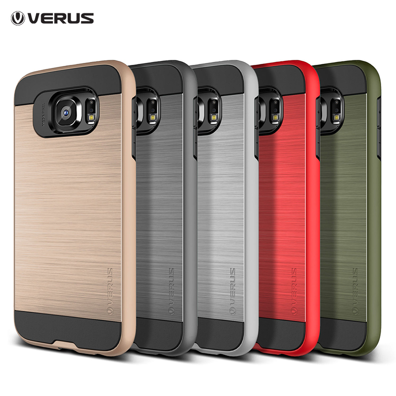 new VERUS V5 S6 edge housing case Neo Hybrid Tough Slim Armor Silicone+TPU Back Cover Case for samsung galaxy s6 edge G9250(China (Mainland))