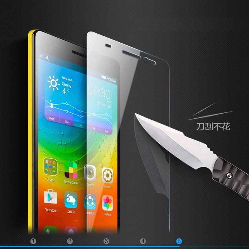 0.3mm 9H Tempered Glass for Lenovo A8 A606 A536 A916 S60 S90 S850 A2010 A6000 VIBE X2 K3 NOTE Screen Protector Film case