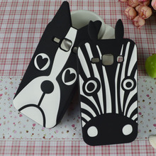 Buy Cell Phone Case Samsung Galaxy J1 2015 Duos SM-J100F J100 J100F J100H J100FN J100H Cover Dog Zebra Silicon Skin Hood Housing for $3.87 in AliExpress store