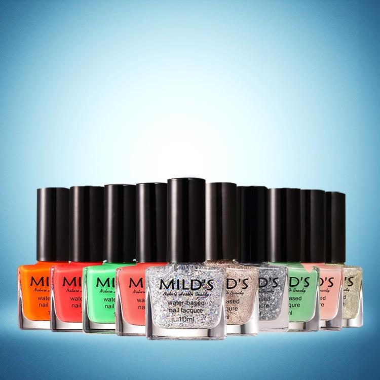 Good Quatily Paint Candy Color Vernis Matte Luminous Nail Polish Non-toxic Tasteless Easy Peel Off 10ml 0.35oz 3colors / Lot(China (Mainland))