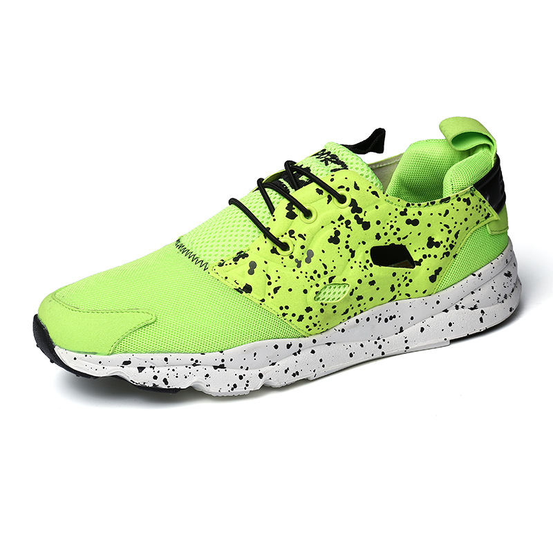 Waterproof Nubuck Leather Mens Sneakers Women Shoes Trainers 2016 Fashion Sport Shoes Mens Running Shoes zapatos hombre(248)(China (Mainland))