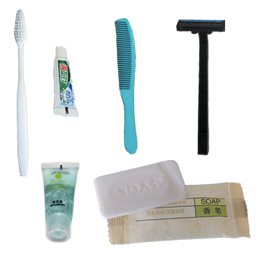 Premium Hotel Bathroom Disposable Products, toothbrush, toothpaste, comb, shampoo, razor, soap(China (Mainland))