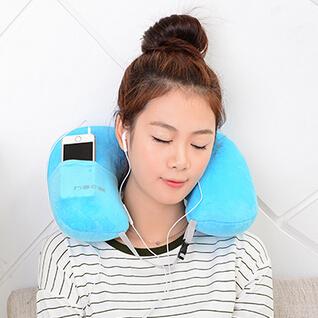 U Shaped Pillow Soft Memory Foam Headrest Neck Rest Pillow Cushion Car Flight Travel Nursing Cushion free shipping 0008795(China (Mainland))