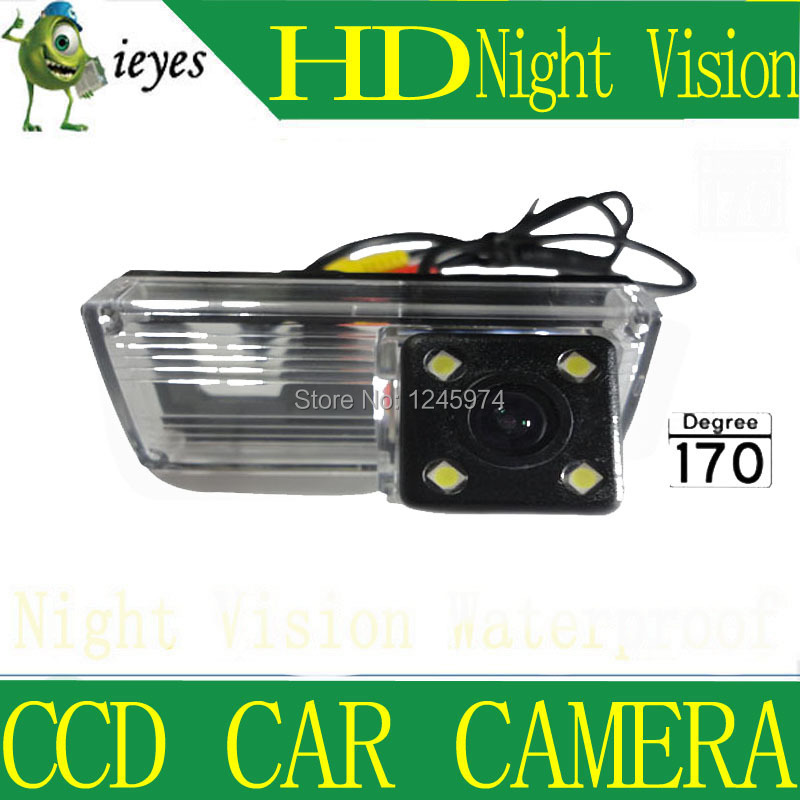 For NEW REIZ 2009/LANDCRUISER HD Car rear view camera Wireless Night vision CCD 170 degree Parking assistance Security(China (Mainland))