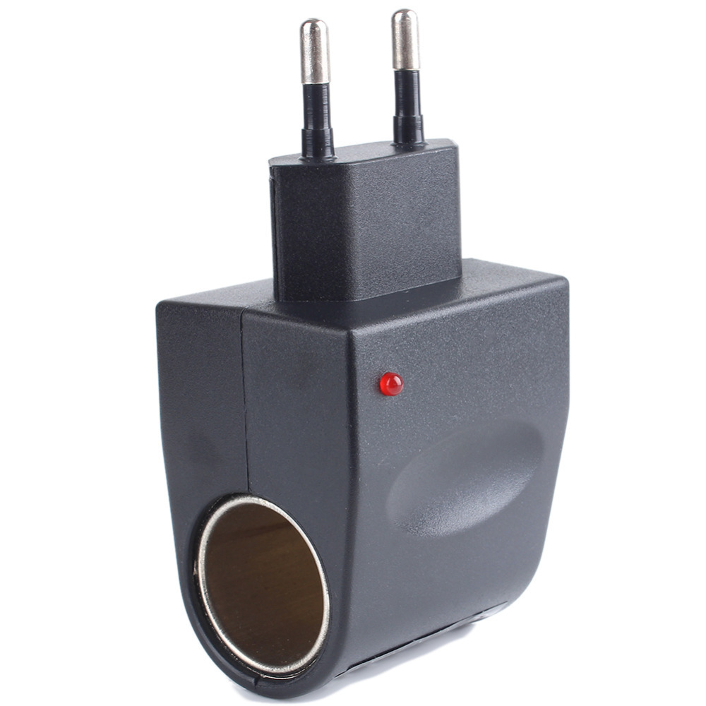 Car Cigarette Lighter Adapter Converter 220 Wall Power to 12V DC Car Cigarette Lighter Adapter Converter Encendedor de conexion(China (Mainland))