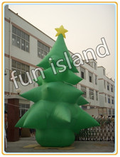 outdoor Inflatable christmas decoration/ inflatable santa/ snowman/ christmas tree(China (Mainland))