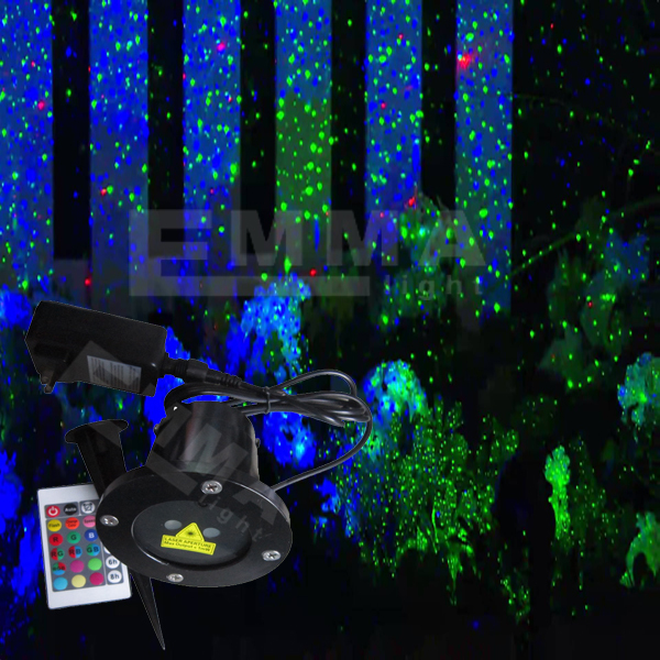 elf light christmas lights projector outdoor laser green and blue moving garden laser decoration. Black Bedroom Furniture Sets. Home Design Ideas