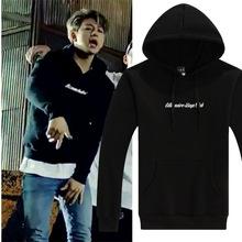 2015 Kpop Ikon b . i bobby JinHwan Yun Hyeong Dong Hyuk Chan Woo Jun Hoe hoodies loose long-sleeve o-neck sweatshirt(China (Mainland))