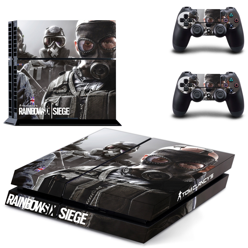 new tom clancy 39 s rainbow six siege ps4 skin sticker for sony playstation 4 console protection. Black Bedroom Furniture Sets. Home Design Ideas