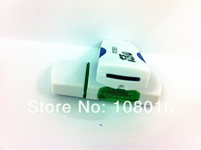 1pcs Free Shipping USB 2 0 Micro SD T Flash TF Memory Card Reader adapter little
