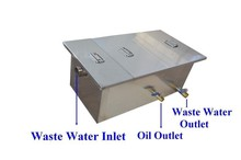 0.5T Commercial Grease Trap Kitchen Waste Filter Stainless Steel Restaurant(China (Mainland))