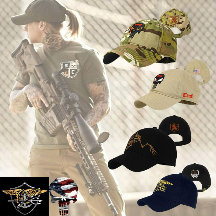 Exclusive Sales New Arrived TSNK Men Women embroidery Baseball Cap Military Punisher SEAL Team Cotton Adjusted Snapback Hat(China (Mainland))