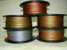 Reprap 3d printer 1.75mm filament metal material