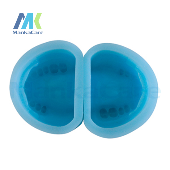 Фотография Manka Care - Edentulous Rubber Mould/High quality silicon rubber mould of Partial Edentulous model Oral Model Teeth Tooth Model