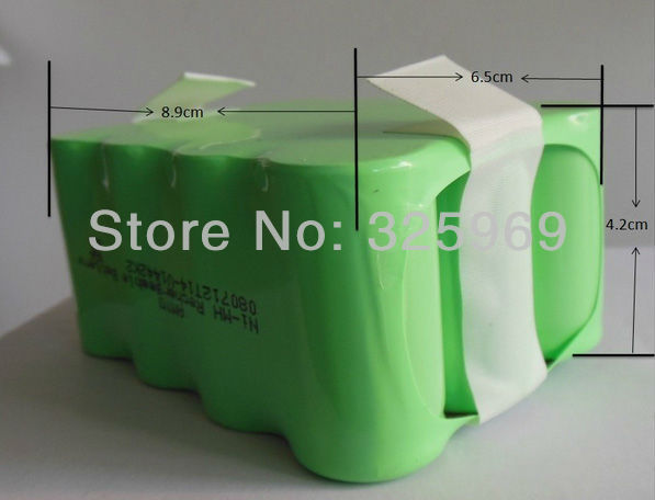 Ni-MH 2200mAh Rechargeable Battery For Robot Vacuum Cleaner A320 And A325