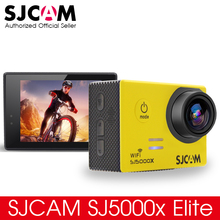 Original SJCAM SJ5000x Elite Action Camera WiFi 2K 30fps 4K @ 24fps Gyro Sports DV Novatek 96660 Diving 30m Waterproof Camera(China (Mainland))