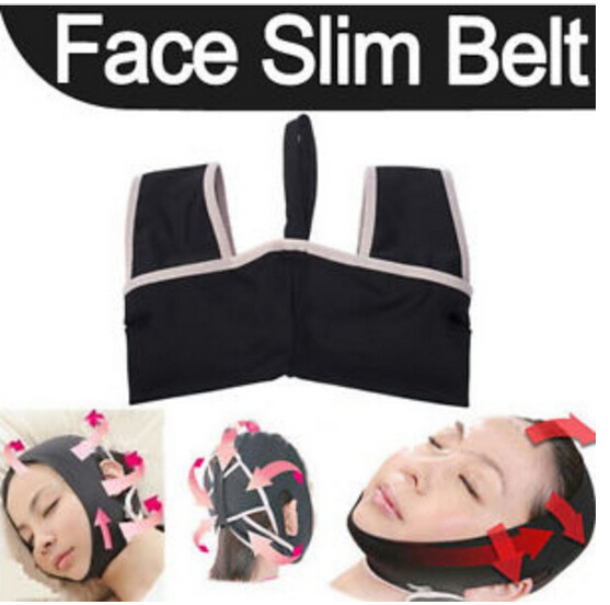 Wholesale Hot new Slim Slimming Shaping Cheek Scalp 3D Chin Uplift Sharp Face Belt Anti Wrinkle Sagging Mask(China (Mainland))