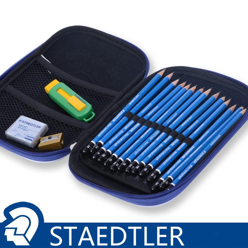 Germany STAEDTLER set 100 pencil eraser pencil sharpener sketch painting suit