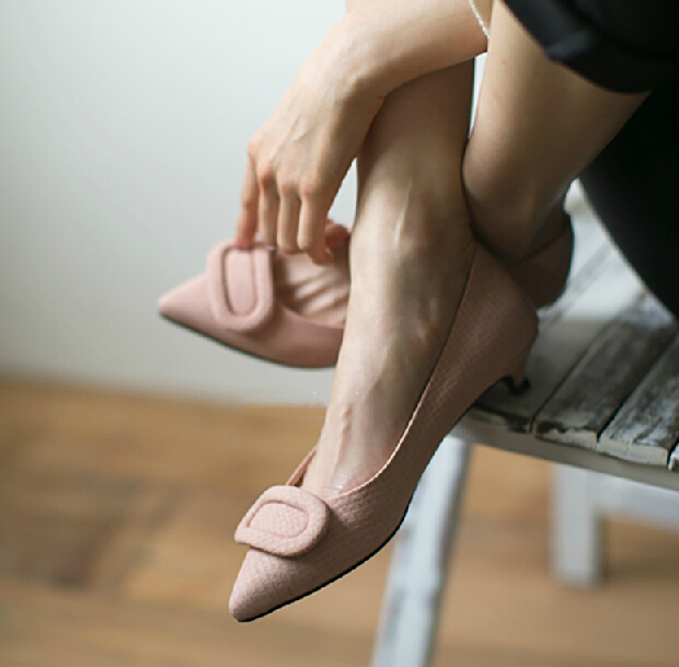 Здесь можно купить  Fish Scale Kitten High Heel Shoes Plus Size Spring Fashion Pointed Pumps For Women Snake Skin Neon Green Closed Toe Girl  Обувь