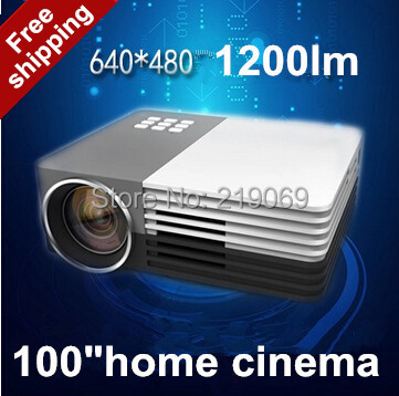 Newest 2015 LED Mini Video LCD 1080P 3D Home Theater Projector Full HD Proyector Beamer Projetor(China (Mainland))