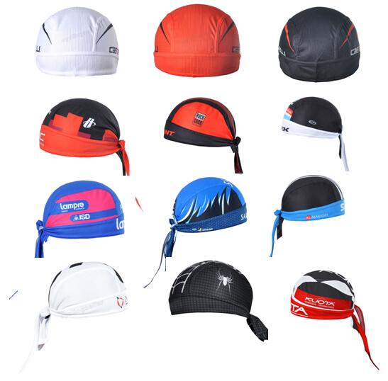 Cycling Cap Sweatproof Sunscreen Headwear Bike Team Scarf Coif Bicycle Bandana Pirate Headband Riding Hood Sports hat Headcloth(China (Mainland))
