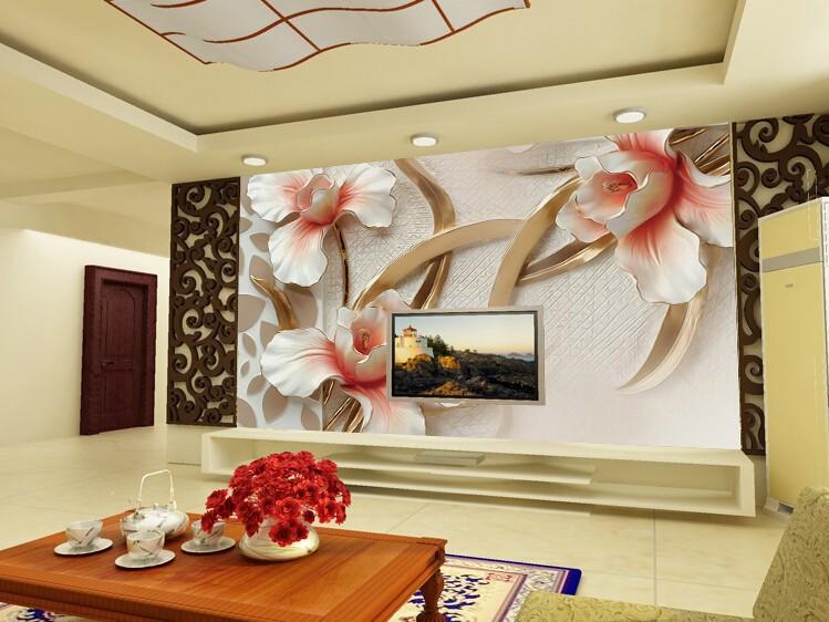 3d Wallpapers Living Room 19 3d Wallpaper Designs For Living